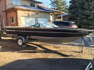 19.5ft spectrum fishing boat may trade