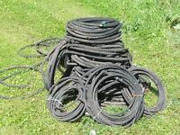 Garden/flowerbed irrigation kit soaker hose.