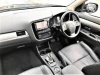 2014 Mitsubishi Outlander 2.0 PHEV GX4h 4x4 5dr (5 seats) PETROL/ELECTRIC black