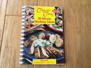 """""""Company's Coming"""" 30 Minute Weekday Meals - Jean Pare"""