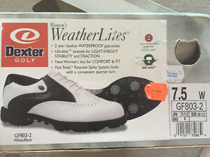 WOMEN'S BRAND NEW GOLF SHOES