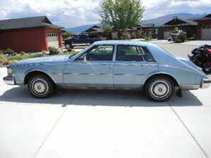 1981 Cadillac Seville - One of a kind