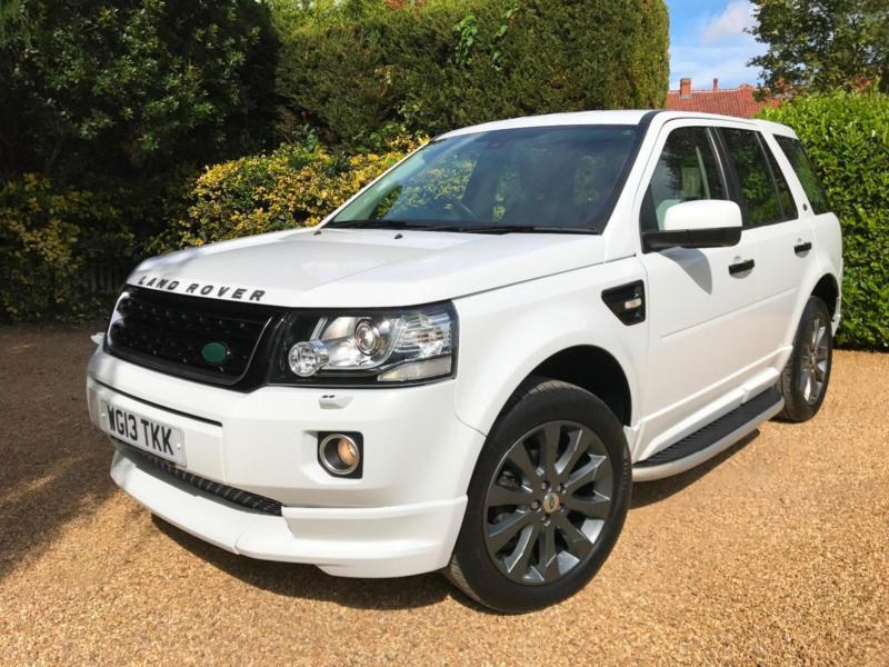 Land Rover Freelander 2 2 2 Sd4 4x4 Dynamic Auto White