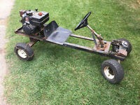 Go Cart with 8hp Tecumseh Engine
