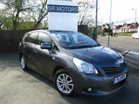 2011 Toyota Verso 2.0D-4D ( 7st )TR(PANROOF,HISTORY,WARRANTY))