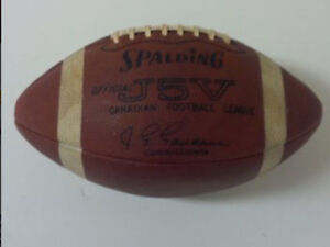 Looking to BUY CFL J5V Spalding football Regina Regina Area image 3
