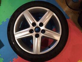 Audi A4 17 alloy Passat Exeo