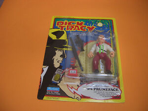 (2) DICK TRACY FIGURES THE TRAMP AND DICK TRACY London Ontario image 6