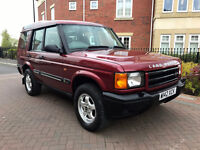 Land Rover Discovery S TD5 (red) 2000