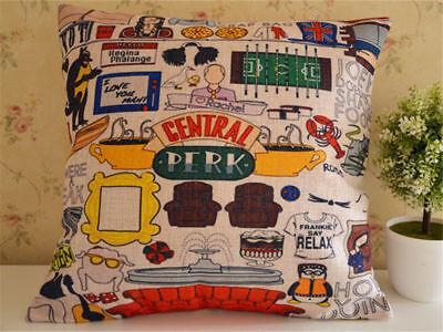 45*45CM TV Series Friends Central Perk Home Cushion Throw Pillow Deco Soft Home