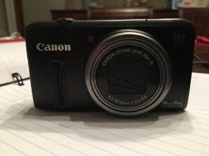 Canon PowerShot SX260 HS and Case for Sale