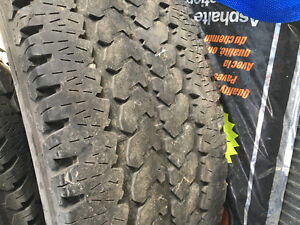 Used 265/70 R17 Firestone Enforcers AT