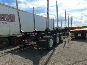 2016 BWS EZ-2-LOAD LOG BUNK TRAILER AT GRAHAM AUCTIONS