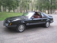 1986 FORD MUSTANG GT - T-TOP RUST FREE FULLY LOADED A/C