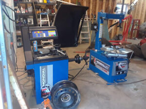 Four Tire change and balance $60.00