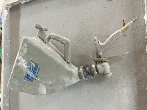 GFRC concrete spray gun