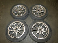 JDM Honda Accord EURO R OEM Rims, Wheels, Mags, 5X114.3 16x6.5j