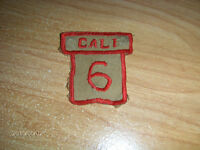 COLLECTIBLE CALI SOCCER PATCH-SNAPS-1970/80S-COLUMBIA-VINTAGE