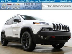 2017 Jeep Cherokee Trailhawk | 4X4 | Htd Leather | 4cyl | Remote