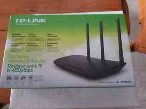 Router TP Link 450 mbps wireless N