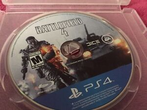 Battle field 4 PS4. looking for quick buyer. 25$