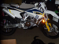 2015 HUSQVARNA  501 DUAL PURPOSE