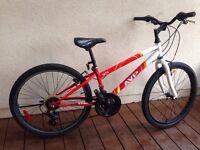 Vélo Junior 24 pouces à 18 vitesses - presque neuf!