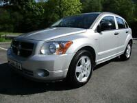 06/56 DODGE CALIBER 2.0 SXT D 5DR IN MET SILVER (P/X TO CLEAR / MOT MARCH 2018)