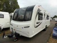 NEW 2020 Bailey Unicorn Black Edition Valencia Caravan, Fixed Double Bed