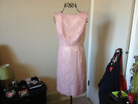 NEVER WORN! Beautiful light pink dress