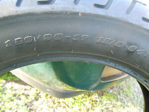 New Dunlop D404 Front or Rear , 120/90-17 for only $70.00