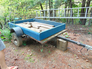 Utility Trailer (previously licensed)