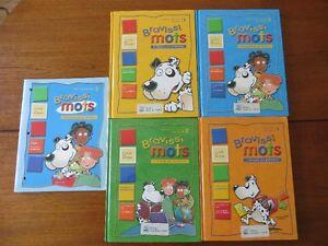 Bravissimots 4 manuels + 1 cahier Français 1er cycle primaire