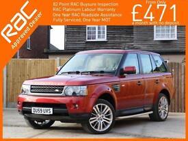 2009 Land Rover Range Rover Sport 3.0 TDV6 Turbo Diesel HSE 4x4 4WD 6 Speed Auto