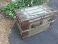 antique chest/trunk