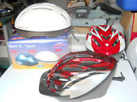 Bike Helmets all new never worn $ 15.00 each
