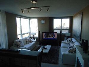 Loveseat, sofa, both white colors