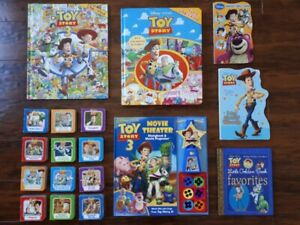 Toy story book lot