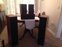 Bowers & Wilkins surround sound speakers