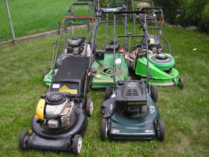 Lawnmowers for parts