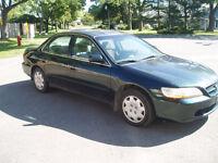 1998 Honda Accord Familiale