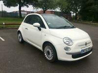 Fiat 500 1.2 ( 69bhp ) LOUNGE, 2 PREVIOUS OWNERS, HPI CLEAR, MOT 23/01/2021