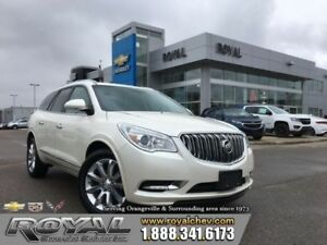 2013 Buick Enclave Premium  SKYSCAPE TWO PANEL SUNROOF