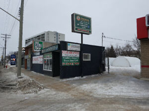 1000 sq foot store front on Portage Avenue for SALE
