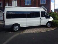 15 seater transit minibus