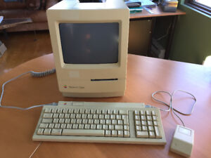 ORDINATEUR MACINTOSH CLASSIC 512k MAC DE COLLECTION