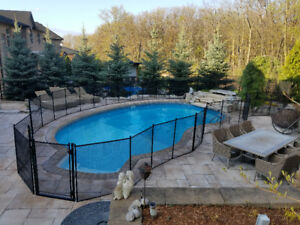 Removable,safety pool fence,made in USA