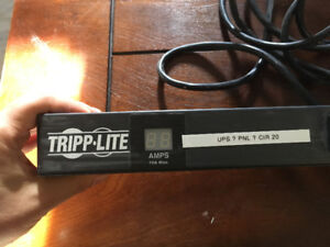 Tripp Lite 12 Metered PDU Outlet Power Bar