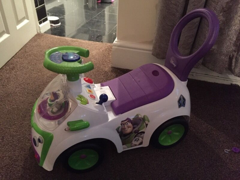 Toy Story Buzz Lightyear Space Vehicle Ride on car
