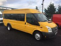 Ford Transit 2.2TDCi euro 5 135 bhp Ex LWB 17 seater 2012 61 Reg